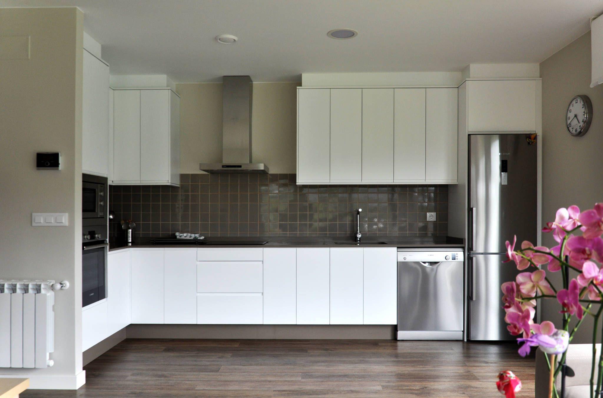 Ideas, imágenes y decoración de hogares | Casa prefabricada, Cocina ...