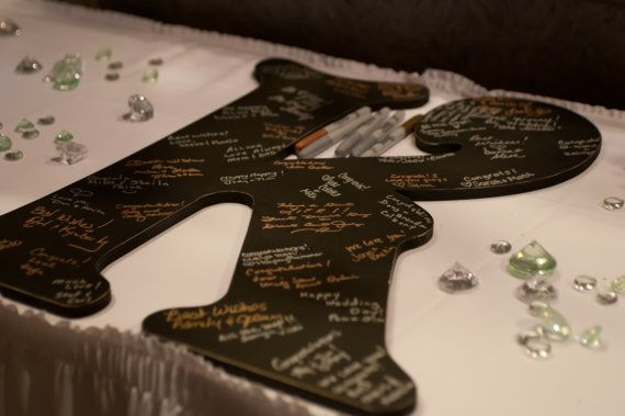 wedding guest book alternative 2 feet tall by route17westweddings 4400 letter guest book guest