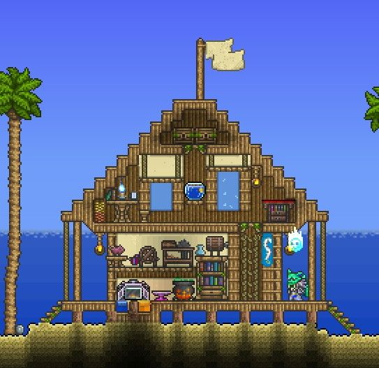 Terrarium Terraria House Design: Terraria Build - Google 検索