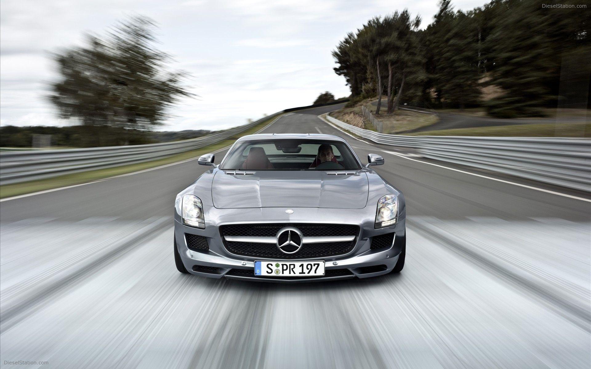 Mercedes Benz Sls Amg Gullwing In Granturismo Wallpapers Mercedes