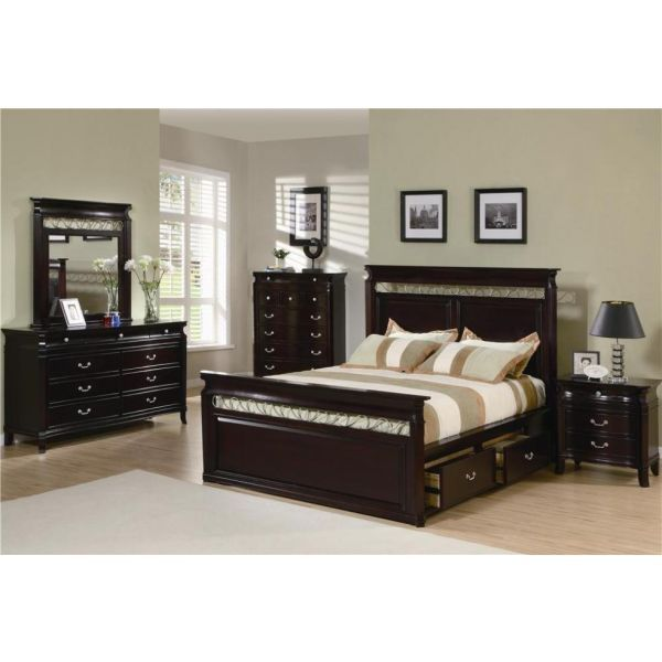 manhattan 6 pc bedroom set by coaster fine furniture 201311q 3 4 5 rh pinterest com au