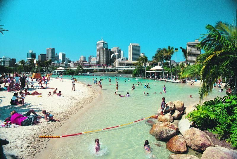 Brisbane Is Home To Australia's Only Inner City Beach