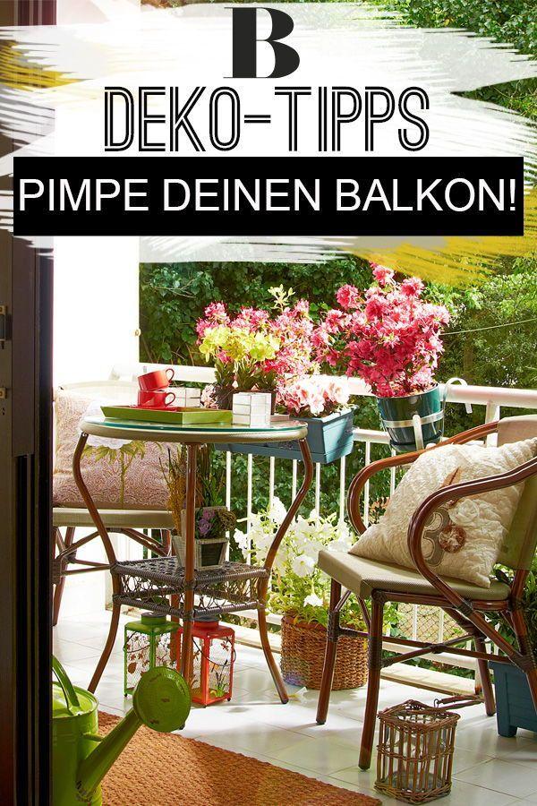 11 Balkon-Trends und Deko-Tipps! | Balkon, Dekorieren, Deko