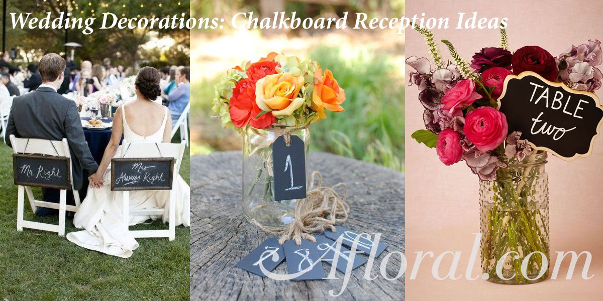 make your own wedding flower centerpieces%0A Cheap wedding decorations including wedding signs  burlap wedding banners  or create your own with wood  slate or chalkboards
