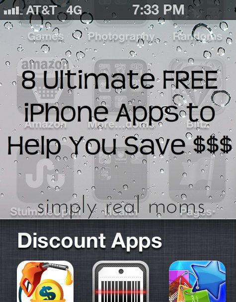 8 Ultimate FREE iPhone Apps to Help You Save Free