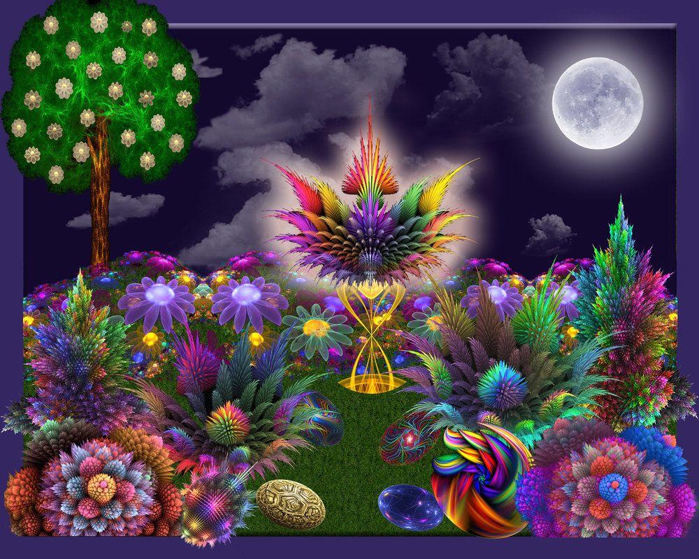Moonlit Apo Garden By Wolfepaw On DeviantArt