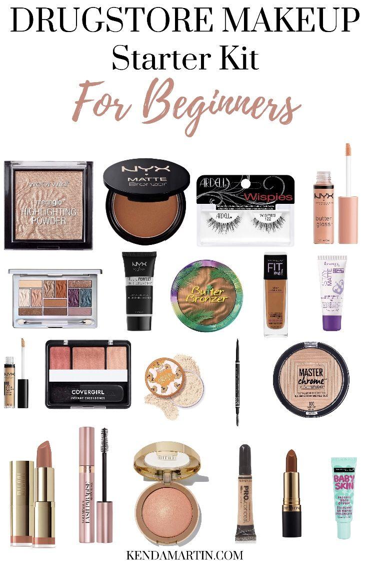 Drugstore Makeup For Beginners In 2020 Drugstore Makeup Best Drugstore Makeup Makeup Essentials