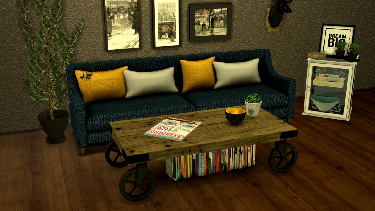 Leo Sims Furniture Living Room Coffee Table [ 720 x 1280 Pixel ]