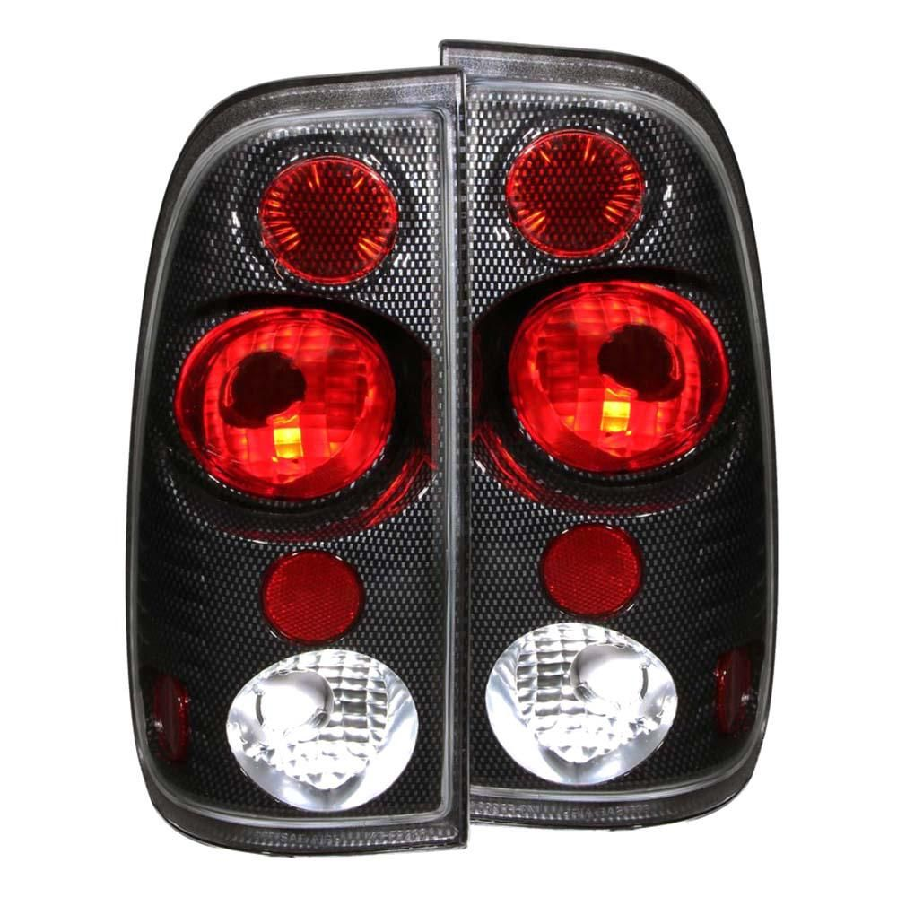 Anzo 1997 2003 Ford F 150 Taillights Carbon 211064 Tail Light Carbon Fiber Ford