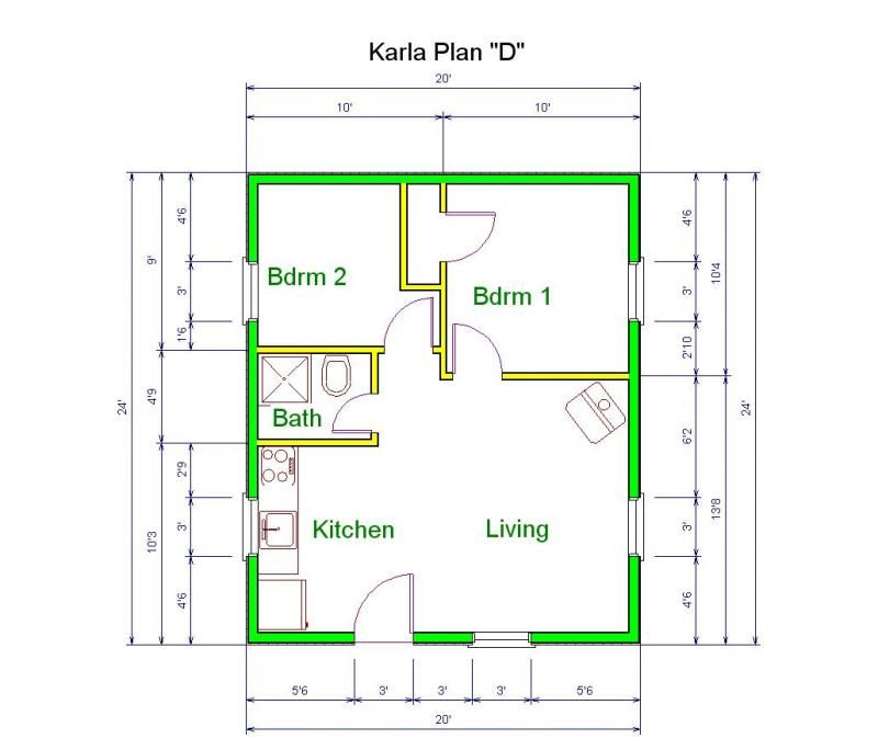 9c0ae96877eb204a82dc33ec3ca40f97 20x30 house house plans,20 X 30 Ft House Plans