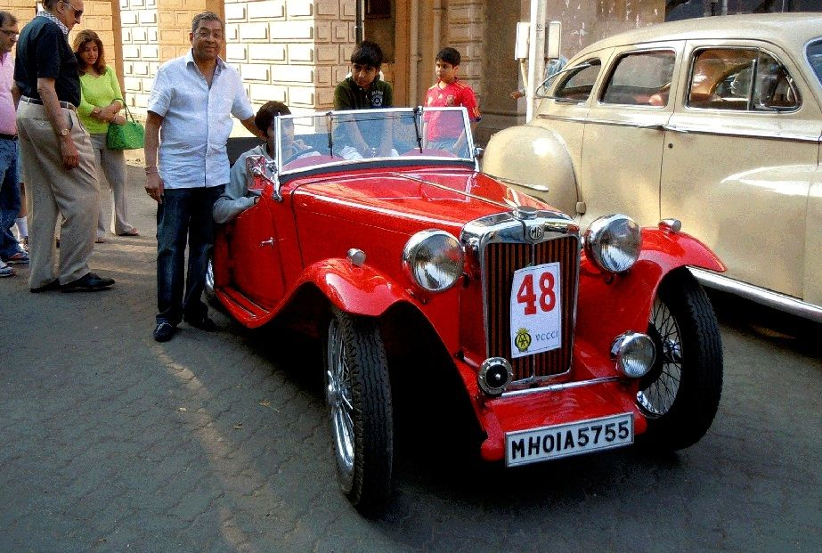 The Vintage & Classic Car Fiesta is held in February in Mumbai. It ...