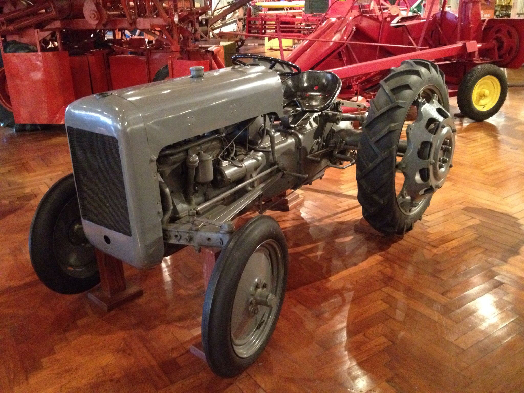 The ford ferguson prototype tractor of what would become the 9n the henry ford museum