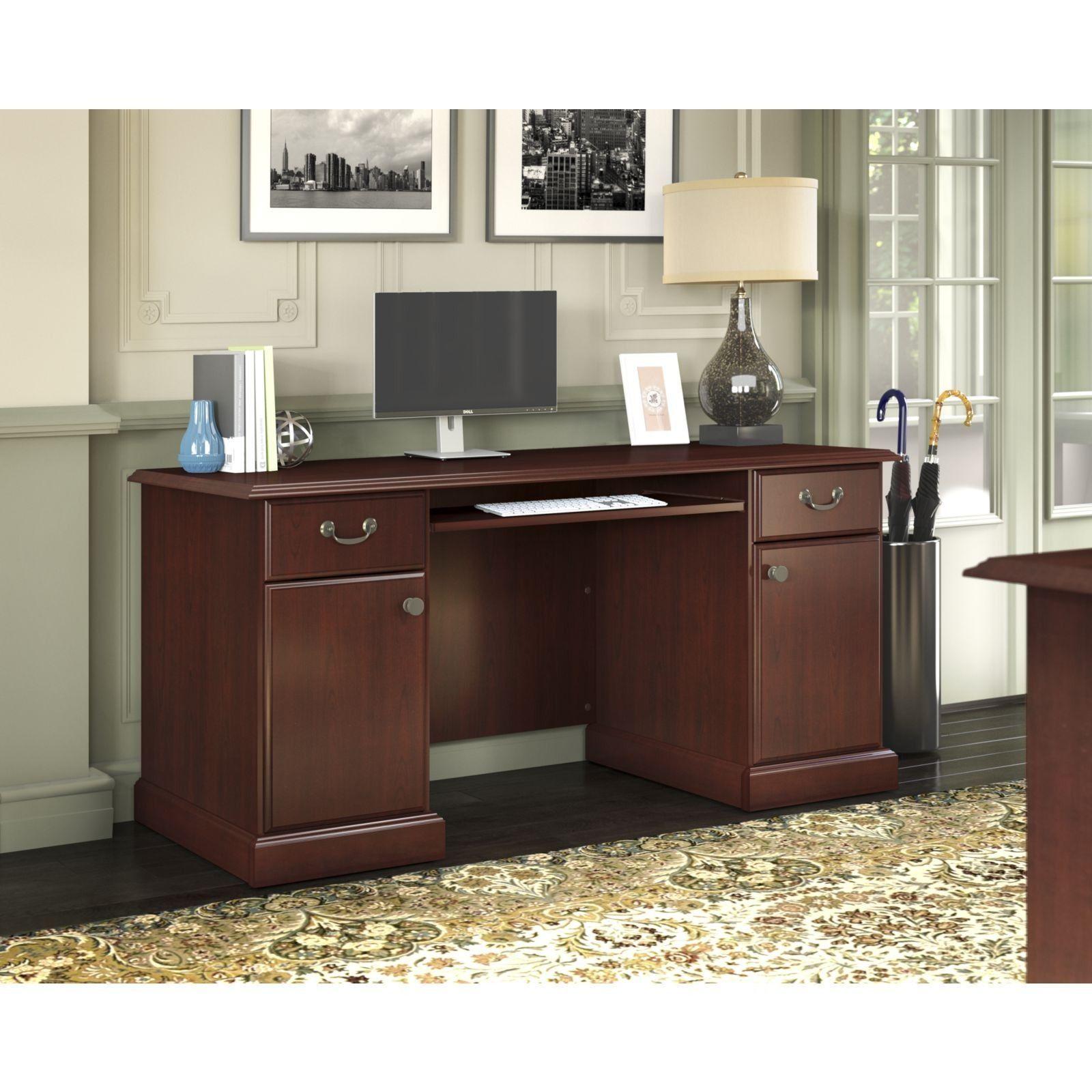 Kathy Ireland Office Bennington Credenza By Kathy Ireland By Bush