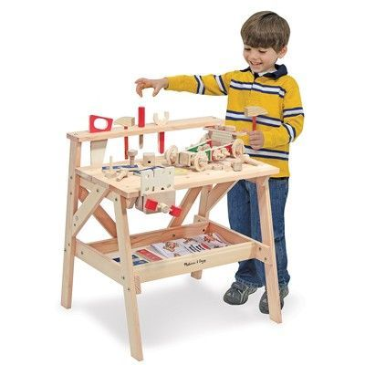 Mimi Toys - Buy Wooden Project Workbench by Melissa and Doug from Mimitoys
