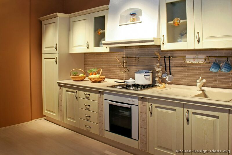 pictures kitchens traditional whitewashed cabinets kitchen shaped