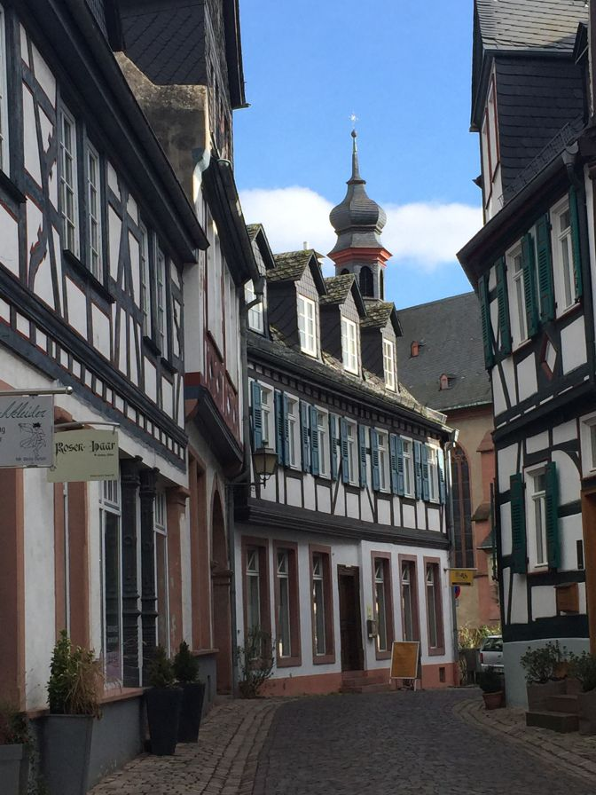 Kiedrich, Germany. The most adorable little wine town in the Rheingau!