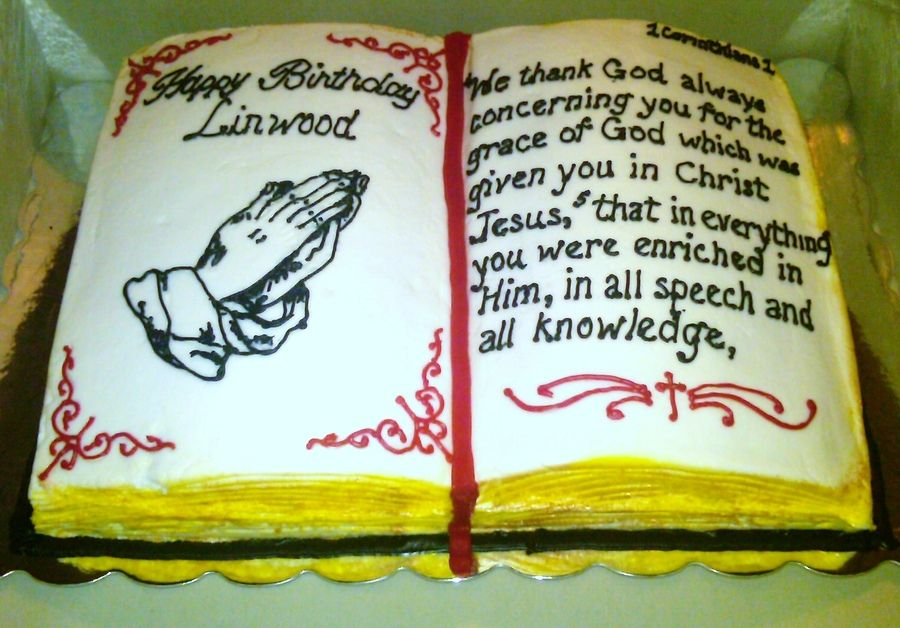 Marvelous In Open Bible Cake Album Birthday Cakes Cakepins Com Fondant Taart Personalised Birthday Cards Paralily Jamesorg