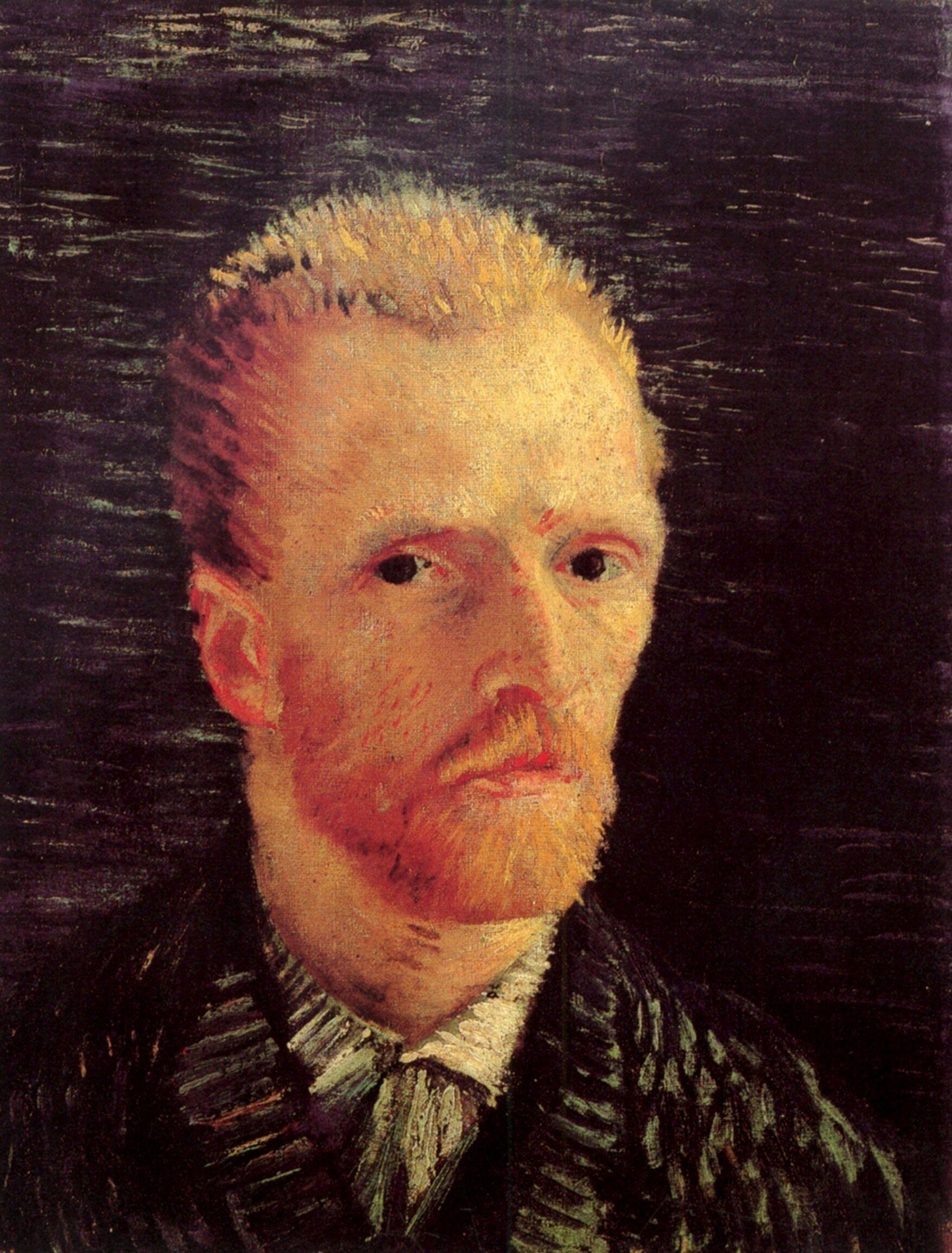 Self-Portrait ~ Vincent van Gogh 1887