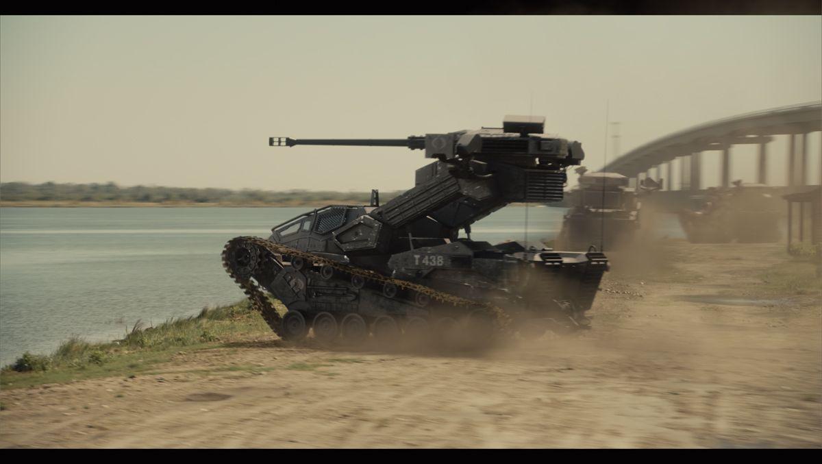 GI Joe Retaliation H.I.S.S Tank