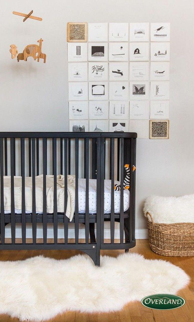Sheepskin Rugs Kid Room Decor Nursery Neutral Kids Room