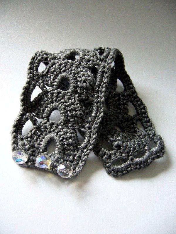 Pin Von Janet Grady Auf Crochet Pinterest Häkeln Armband Häkeln
