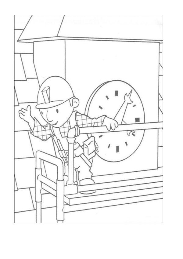 Dibujos para Colorear Bob el constructor 41 | Dibujos para colorear ...
