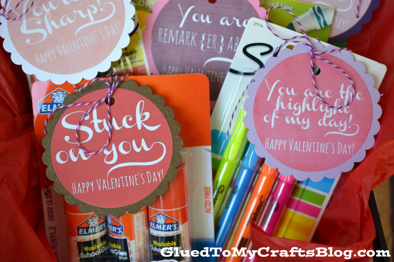 Valentine Teacher Gift Idea + Free Printable