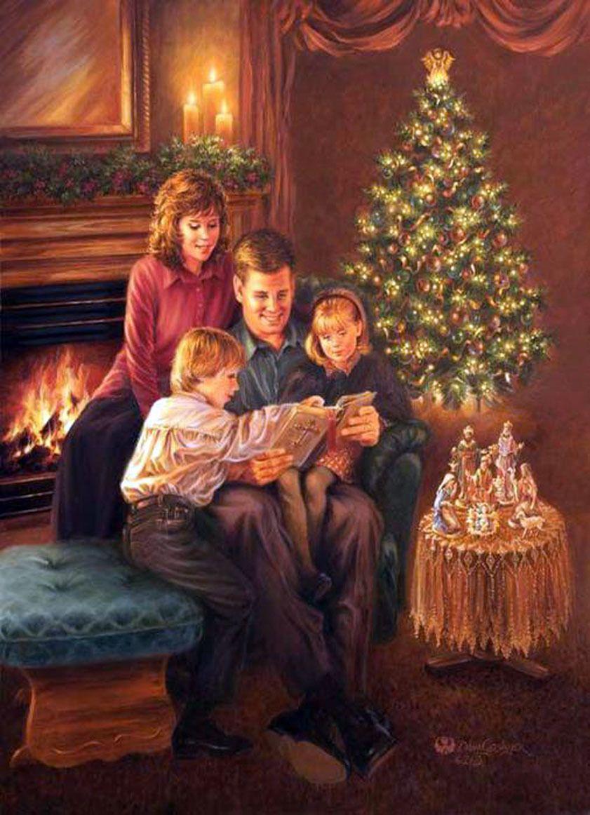 вас рождественские картинки семьи самый красивый байк