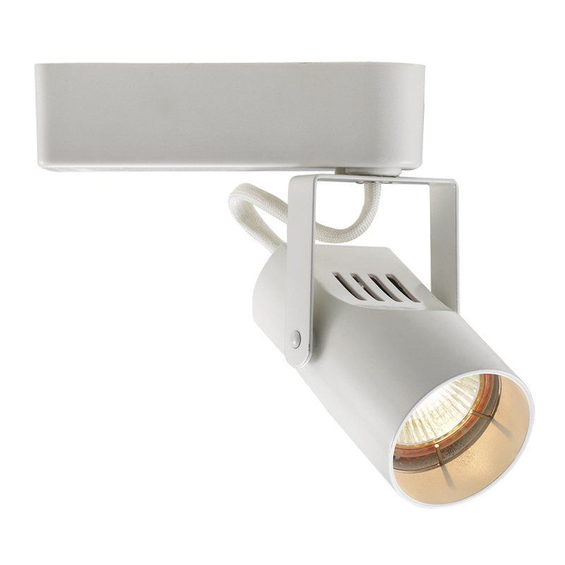 WAC Lighting LHT-007 Low Voltage Track Heads Compatible with Lightolier Systems White Indoor Lighting Track Lighting Heads