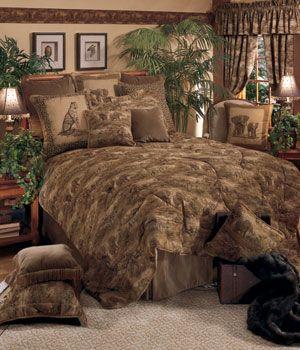 Wildlife Safari African Dawn Bedding Comforter Set In 2019