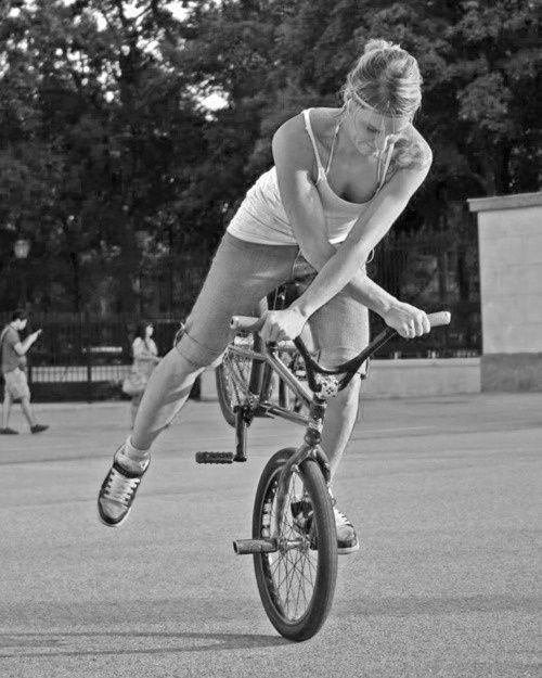 Girls bmx freestyle bike girls can do anything pinterest girls bmx freestyle bike voltagebd Gallery