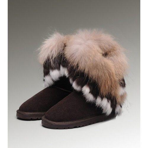 ugg fox fur ugg fox fur short 8288 g nstig kaufen ugg original rh pinterest com