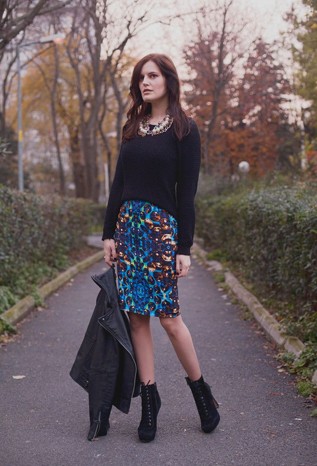What to Wear in Fall 2014? Try the Chic Printed Styles