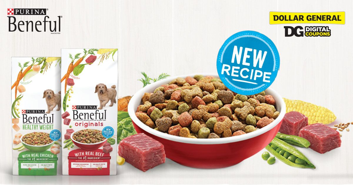 Save Up To 3 On Purina Beneful Dog Food With Dollar General
