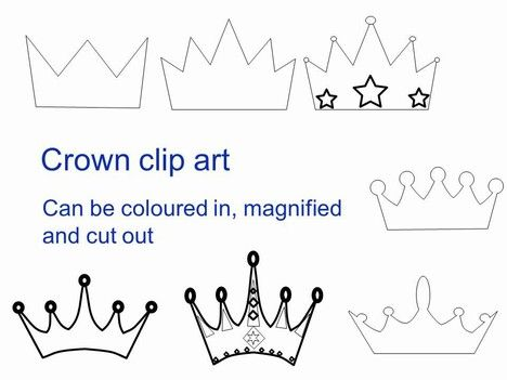To celebrate 60 years on the throne for Queen Elizabeth II - crown template
