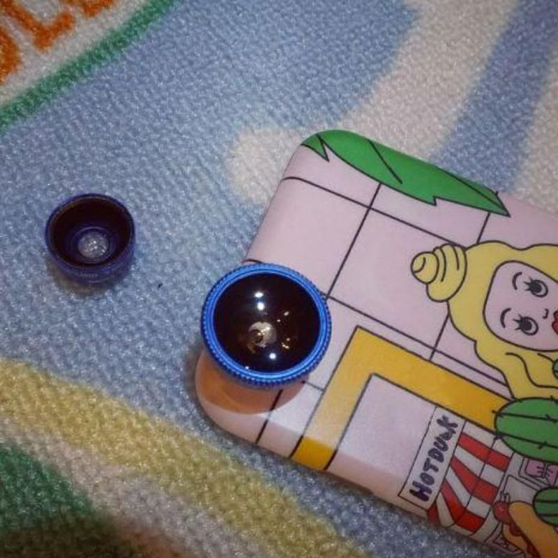Lens fish eye increase for camera iphone cases lens camera