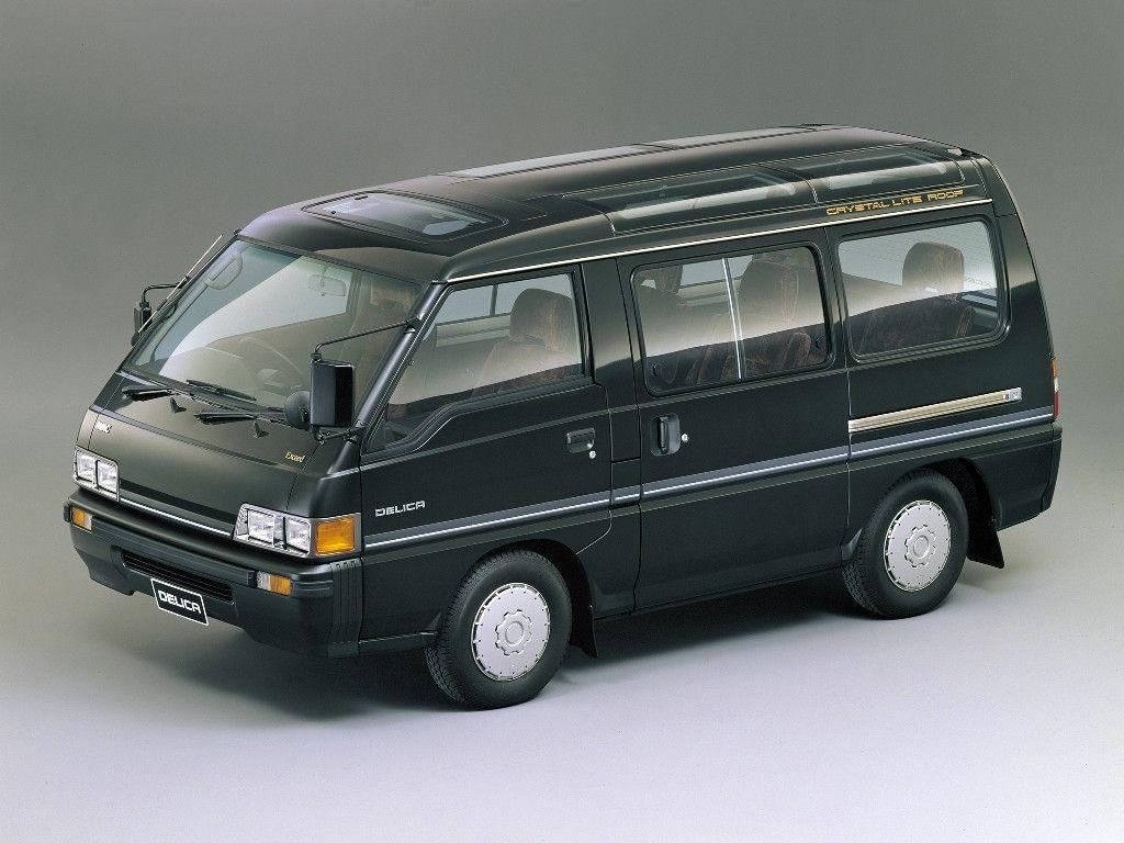 Mitsubishi Delica Star Wagon 06 1986 08 1990 Mitsubishi Wagon Overland Vehicles