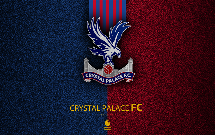 Download Wallpapers Crystal Palace FC, 4K, English