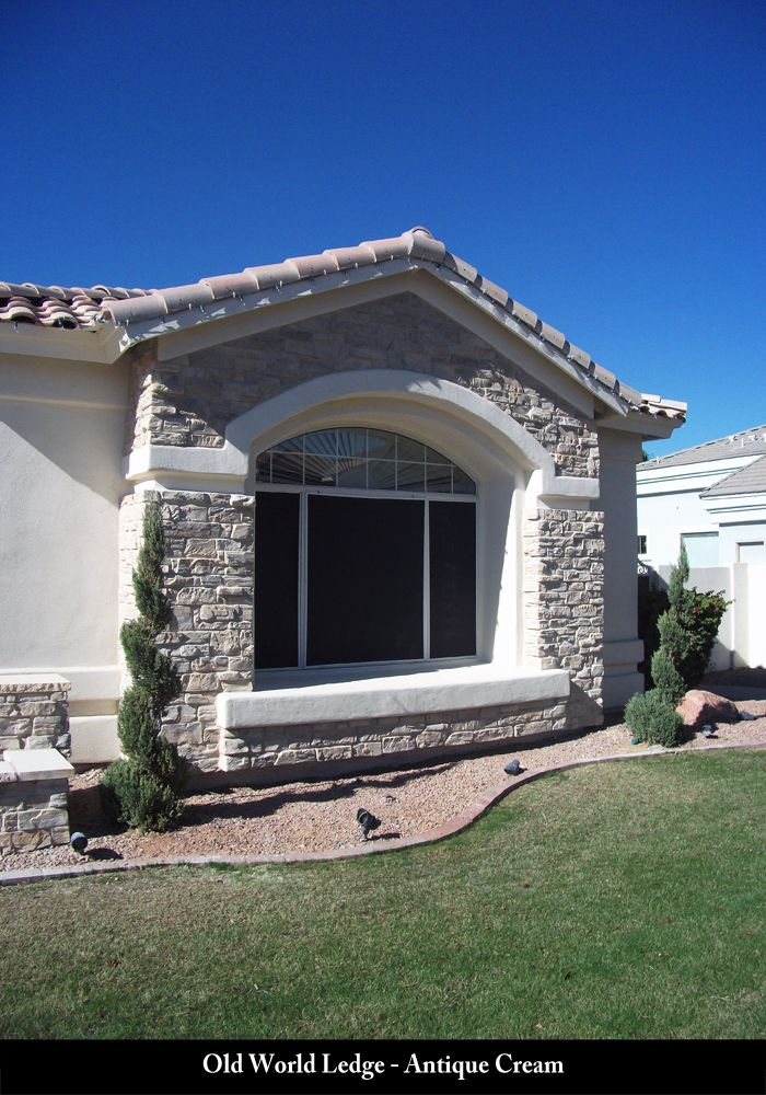 Coronado Stone Products All Projects Old World Ledge In 2020 Painted Brick House House Exterior House Colors