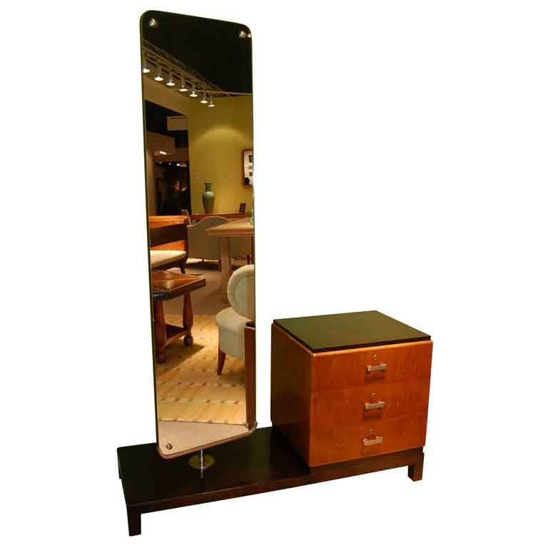 Dressing Table And Swivel Mirror By Axel Einal Hjorth Vintage