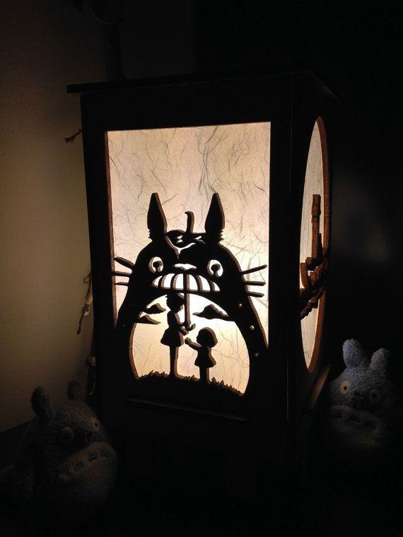 Lampe Totoro Totoro Objet Kawaii Mon Voisin Totoro