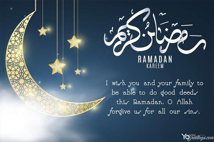 Create Unique Ramadan Mubarak Cards Like A Pro In Seconds Download And Share Ramadan Kareem Cards For Friends And Your Lo Ramadan Kareem Ramadan Cards Ramadan