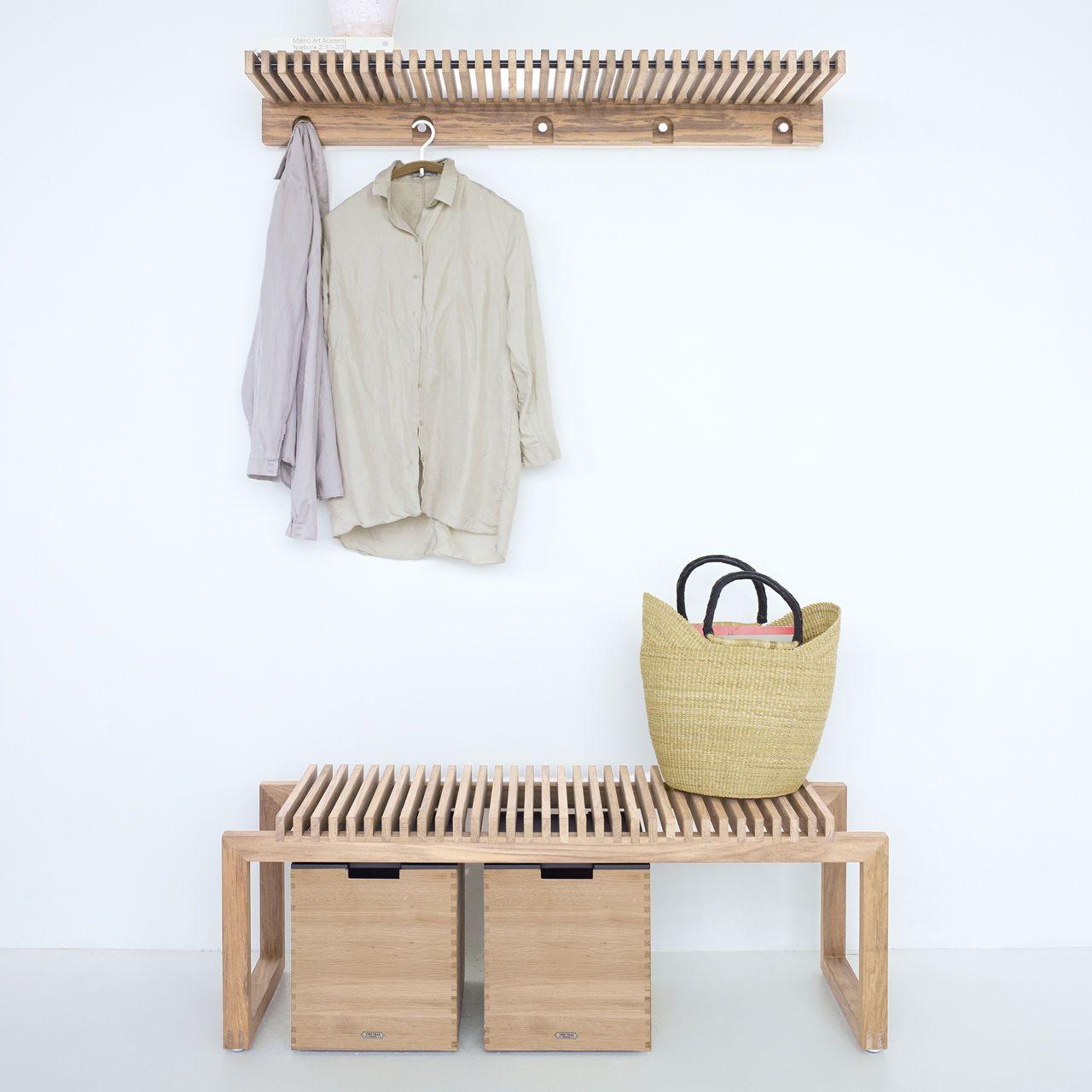 Erstklassig Verarbeitete Garderobe Bank Boxen Und Kleiderbugel