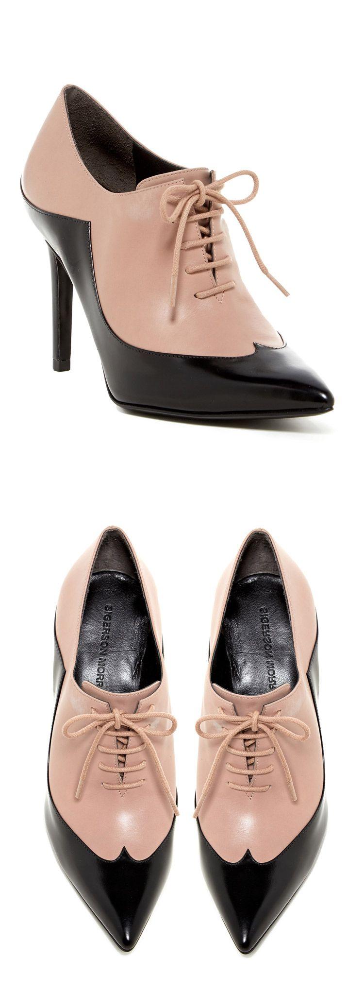 Blush Oxford Heels // sponsored by Nordstrom Rack Heels