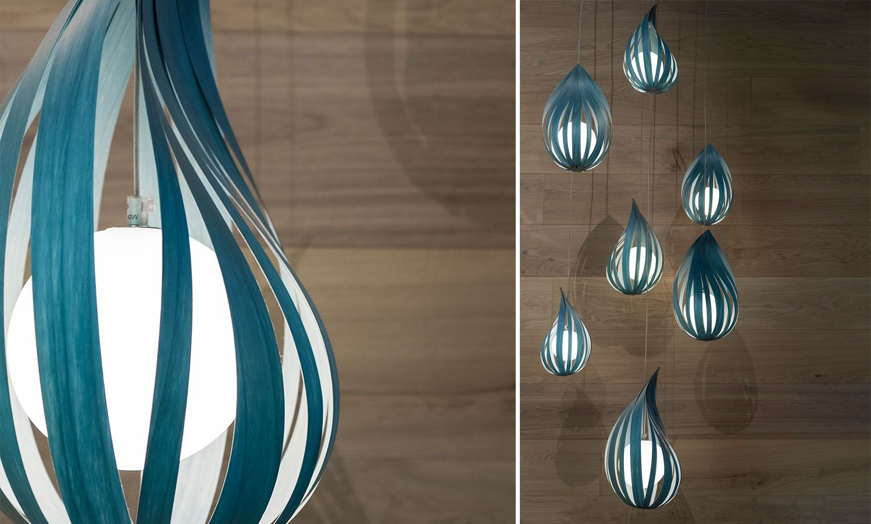 Luzifer Semi Transpa Wood Pendant Lighting Interiors