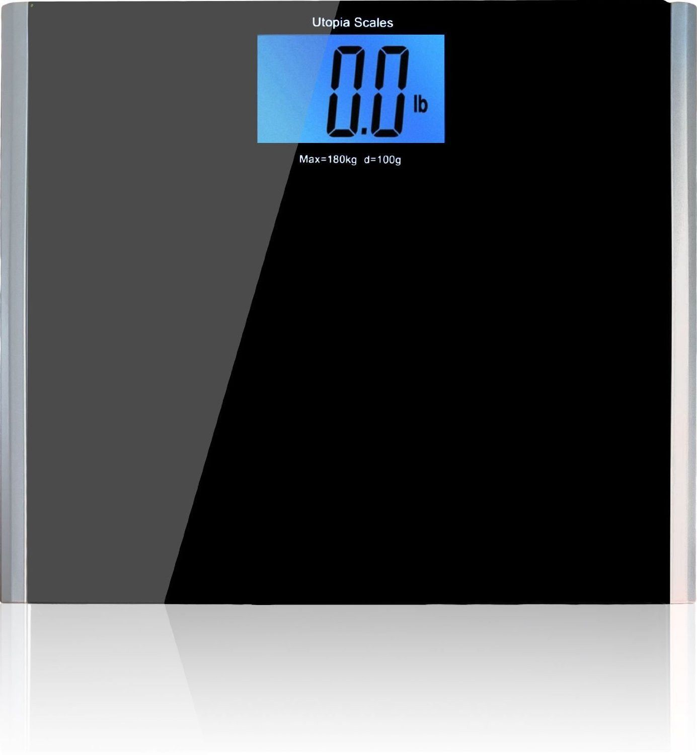 B Top Rated Bathroom Scale And Weight Maintenance Tool The Utopia Tempered Gl
