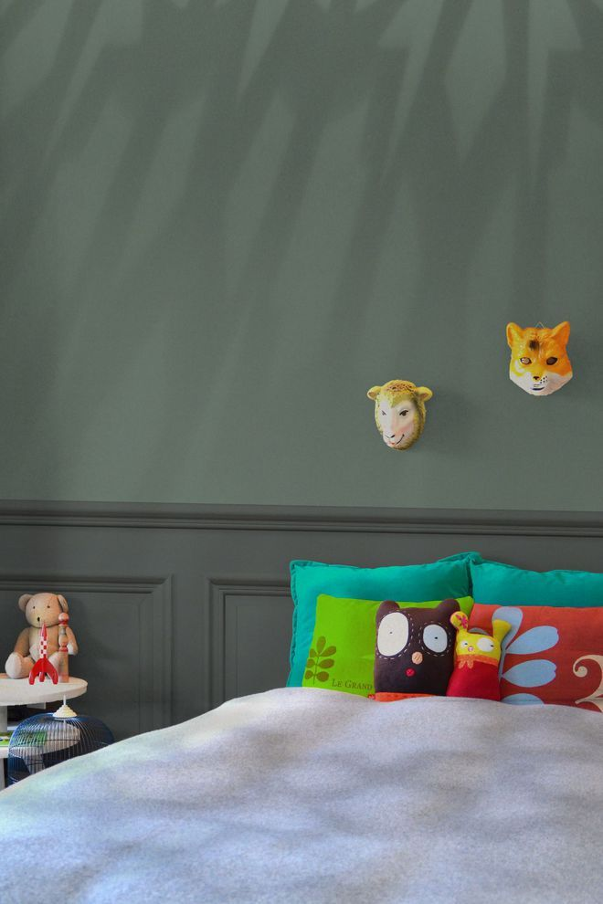 Awesome Chambre Peinture Orange Fonce Gallery - Matkin.info ...