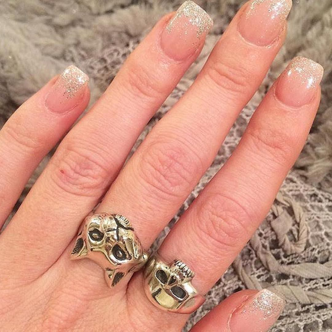 5a703c4485373 Our Smallest Evil Skull and Cat ring in 9ct gold on @adele_demande ...