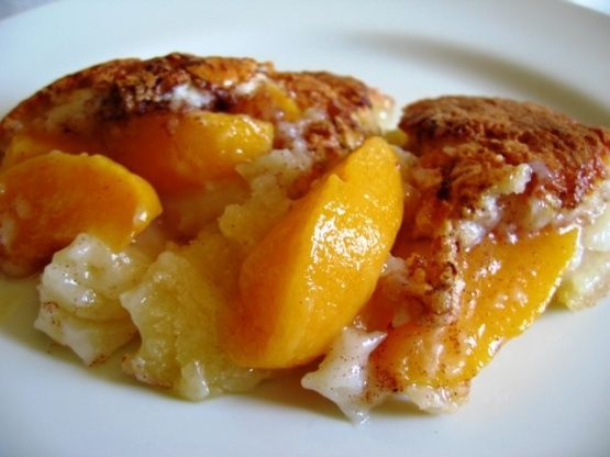 Peach Cobbler #peachcobblercheesecakeinajar Peach Cobbler Recipe - Food.com #peachcobblercheesecake