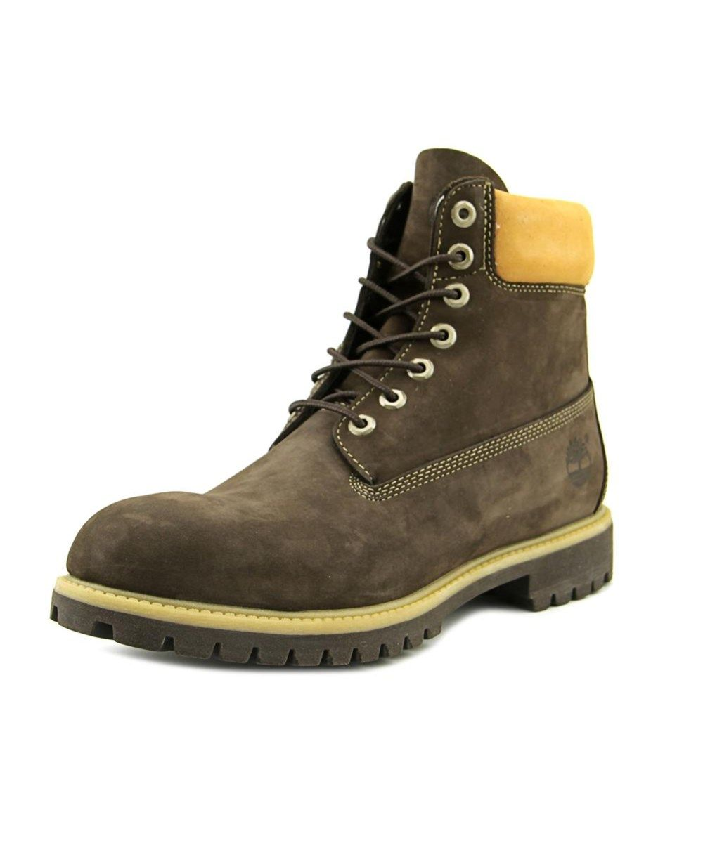 TIMBERLAND Timberland 6 In Men Round Toe Leather Brown Work Boot'. # timberland #